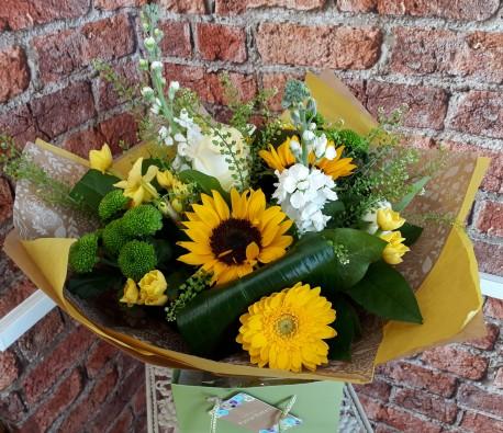 Sunshine Hand-Tied Bouquet