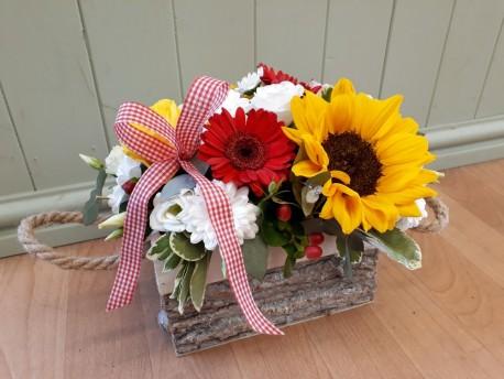 Summer Sunflower Arrangement