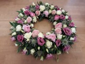 Pretty Pastel Wreath