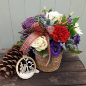 Highland Basket Arrangement